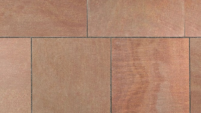 Marshalls Fairstone Flamed Narias in Sandstone